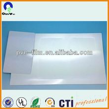 white polish PVC glossy sheet/rigid glossy pvc sheet/4x8 pvc sheet