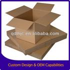 Customized brown Corrugated box