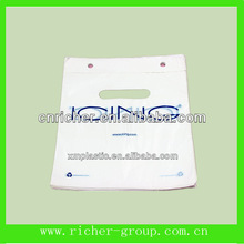 custom logo designed plastic wicketted bakery/food/food packing bag OEM order accepted