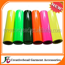 Korea quality neon color PU/PVC heat transfer film/vinyl