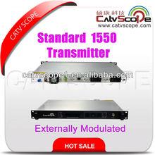 Standrad 1550nm externe modulée à fibres optiques émetteur/1550 externe. laser émetteur optique de modulation