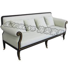 Hotel Sofa furniture / hotel lobby sofa furniture / 3 seater wooden sofa furniture SO-360
