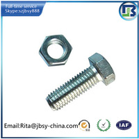 china supplier quick release hex head bolt and nut fastener