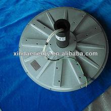 10kw 300 rpm fluxo axial da turbina de vento motor para salei/alternador pmg pma