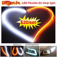 Cheap price 12V flexible drl led / Daytime Running Light For Cars