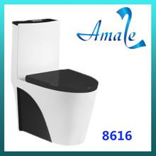 Economic family one piece toilet bowl prices /toilet seat
