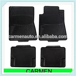 wholesale rubber material car mat black color