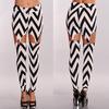 2014 new fashion hot plus size wholesale chevron pants for women