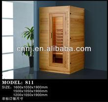 (811) modern design finish sauna room