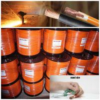BS standard rubber flexible copper welding cable rubber flexible copper welding cable argon gas welding damage