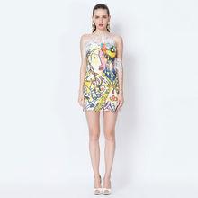 YIGELILA 2015 Hot Selling Club Hot Ladies Sexy Woman Club Dress 6607