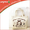 Custom cotton canvas tote shopping bags