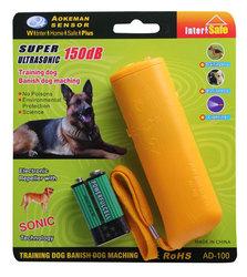 2014 Hot Selling LED Light Portable Ultrasonic Dog Repeller Dog/Cat Repeller Powerful Electronic Animal Repeller