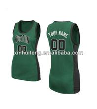 print green new design 100% polyester wholesale custom college basketball jerseys