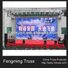 Moving head lighting truss concert stage lighting truss