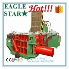 waste metal horizontal baler