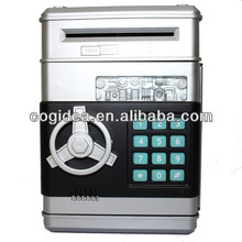 Big Money Box ATM Box Plastic piggy bank money box with lock