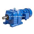 dofiner r redutor de velocidade série horizontal feed caixa de engrenagens de transmissão da engrenagem do redutor