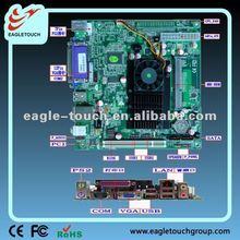 Intel ATOM D525 Die 1.8GHz Atom industrial Mini Itx computer Motherboard.