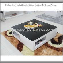 2013 brand new high shinny fashional foosball coffee table big lots