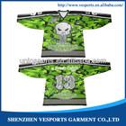 Team hockey jersey printing