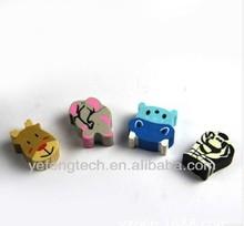 Lovely Animal Eraser / cow shape eraser / elephant shape eraser