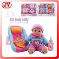 Enfant poupée en vinyle tête et les mains en silicone poupées bébé reborn prix avec chaise. en71 pour la vente
