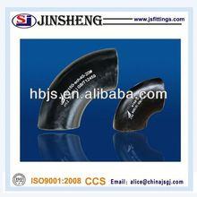 asme b16.9 din en 10253 2 steel elbow