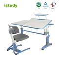 hauteur réglable ensemble table d'étude et chaise pour enfants