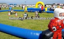 HI EN14960 high quality inflatable go kart track for sale
