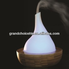 Bamboo and Glass Ultrasonic Aroma Diffuser
