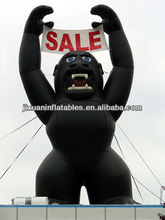giant inflatable gorilla black king kong