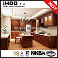 ak4024 país americano de madera de cocina gabinetes de cocinas equipadas en china