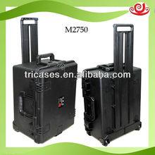 watertight wheeled hard plastic china flight case