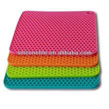 High quality silicone baking coaster silicone pad coaster silicone table coaster