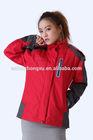 fashoinal waterproof taslon motorcycle fluorescent fireman jacket taslon fabric jacket 2014 new style polyester rain jacket