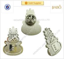 China factory direct sales custom design silver colors lapel uniform badge manufacturer school badge