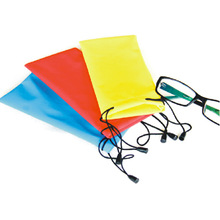 logos printing tailor making suit eyeglass cloth and pouch