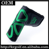 Custom OEM New Lucky Synthetic Leather Black Craftsman Golf Putter Head Cover Wholesale Putter Headcover