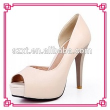 Sexy ladies shoes high heels open toe women pump shoes party shoes