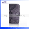 2014 map leather cover for samsung wallet book cases