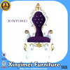 New Design Classic King Chair with Gold Leaf Finish XYM-H165