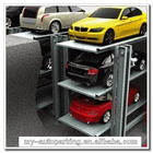 2 or 3 Level Cars Underground Garage Design Automatic Smart Mechanical Car Parking System with Pit