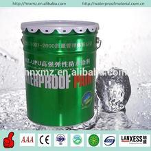 Double component liquid waterproofing asphalt roofing material