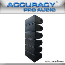 Powered new style active line array speaker system W8LA