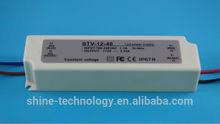 12V 20W 30W 40W 60W 100W 150W waterproof led power supply constant voltage CE ROHS