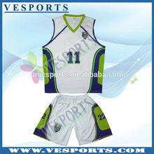 Black team basketball uniform design with 100% polyester