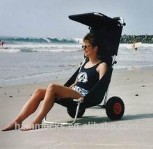 Holding Beach Cart, Beach Chair, Chair with wheels