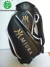2014 New Style Custom PU Material Golf Stand Bag