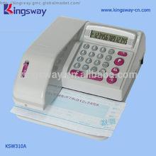 Check Writing Machine KSW310.